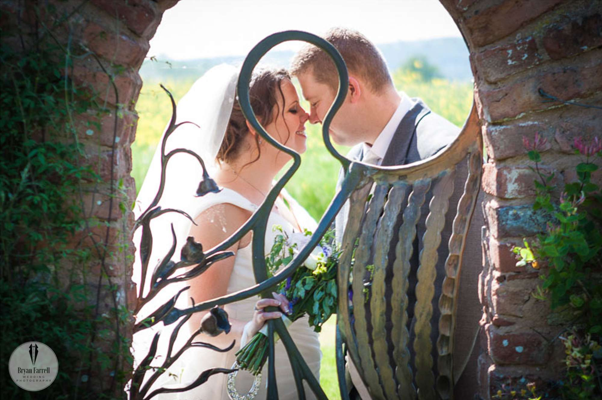 Birtsmorton Court Wedding –  Malvern Hills – AJ.