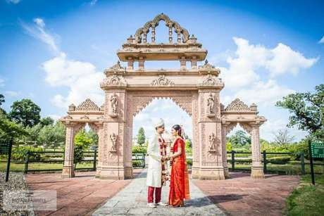 Jain temple wedding