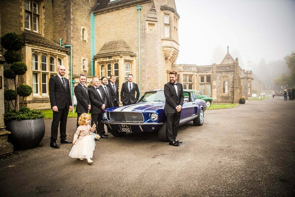 Berkeley Castle Wedding JG 54