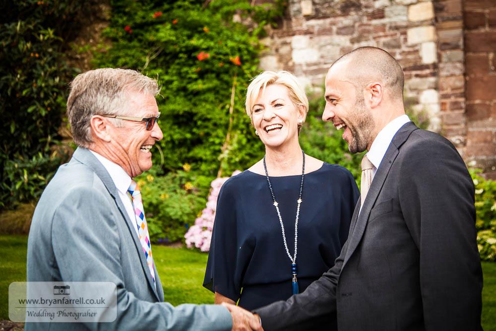 Berkley Castle wedding CA 15
