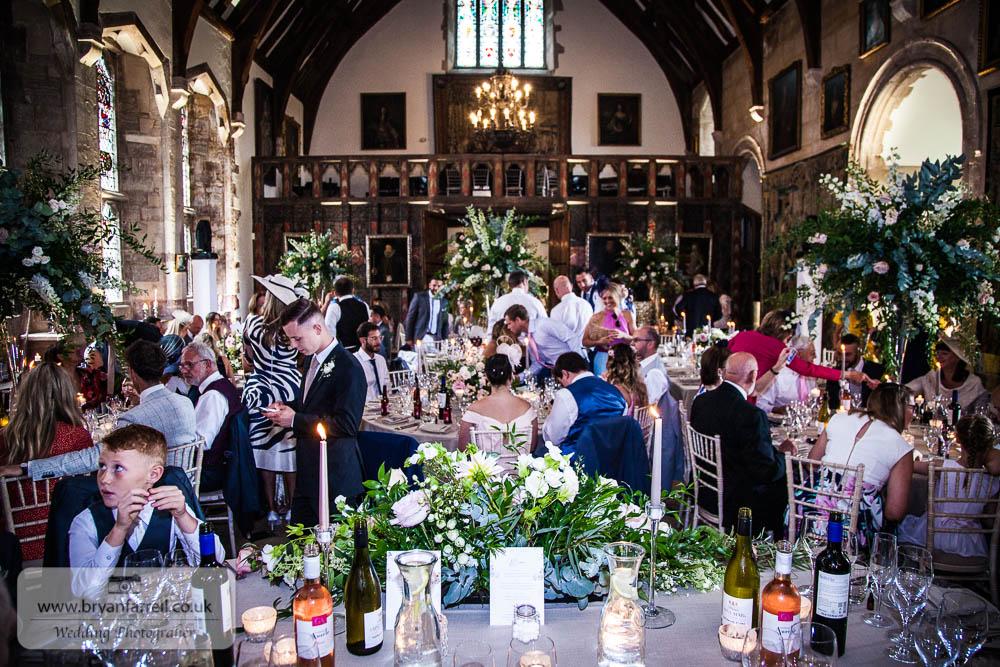Berkley Castle wedding CA 154