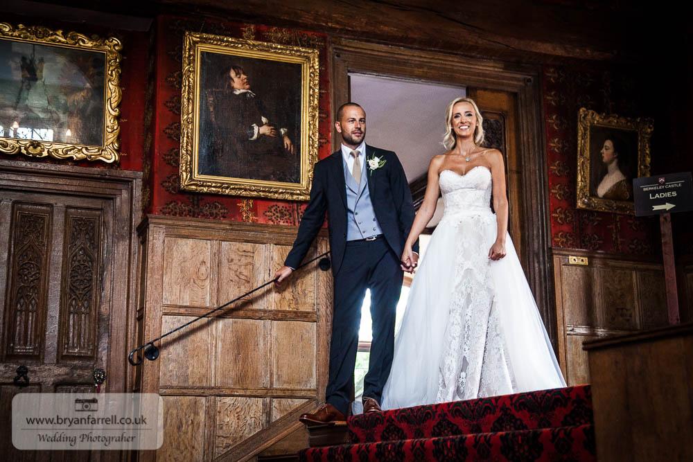Berkley Castle wedding CA 161