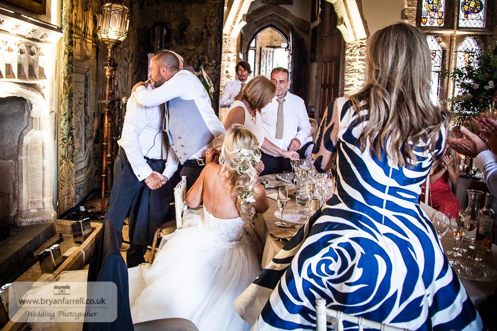Berkley Castle wedding CA 195