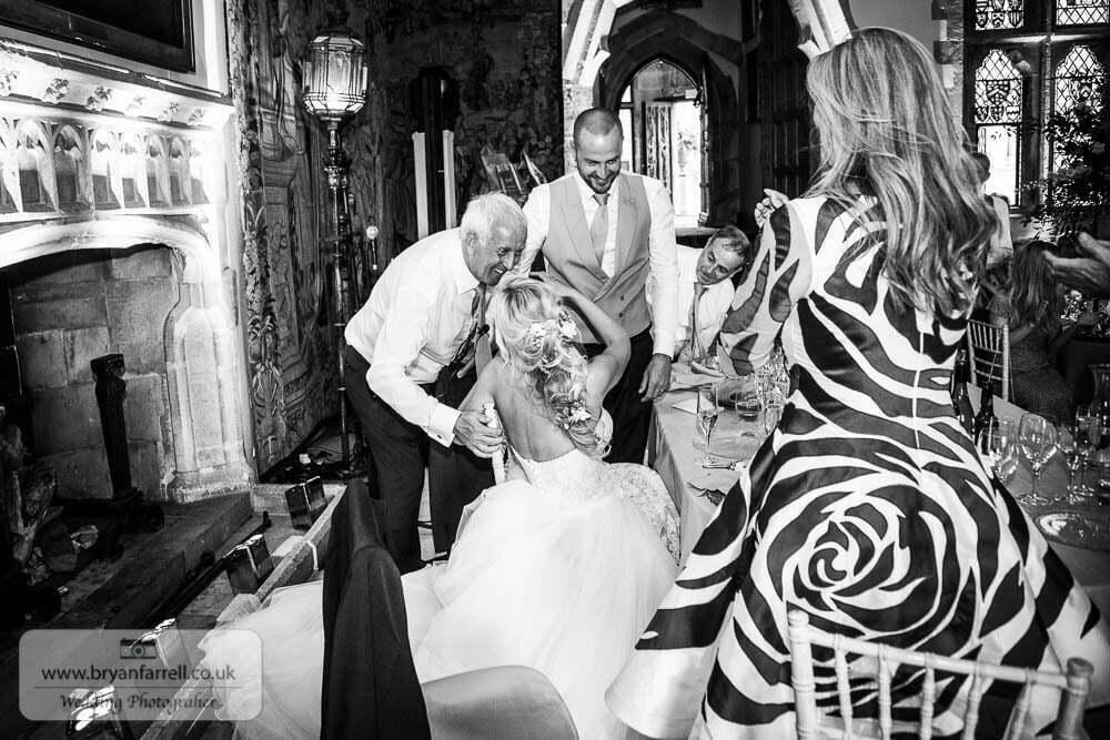 Berkley Castle wedding CA 196