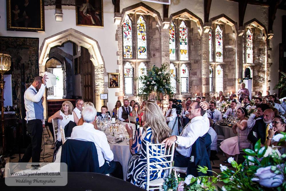 Berkley Castle wedding CA 208
