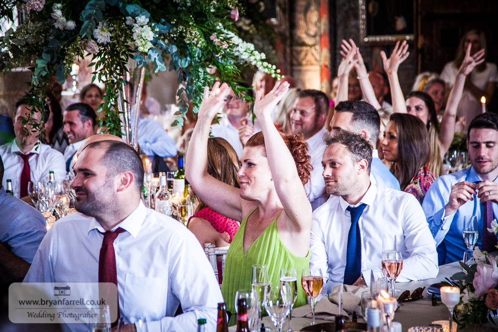 Berkley Castle wedding CA 210