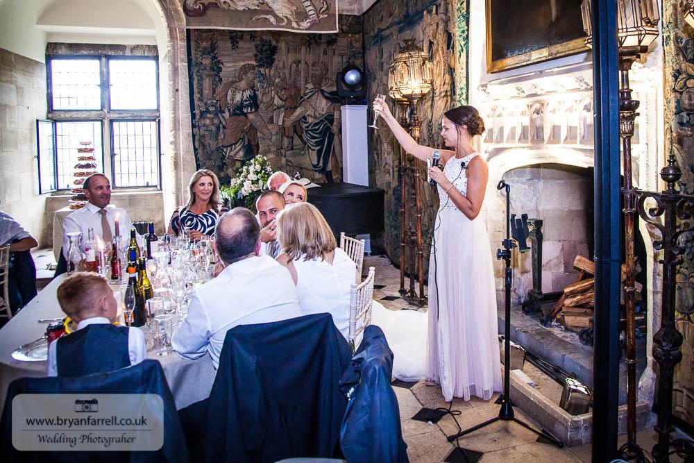 Berkley Castle wedding CA 217
