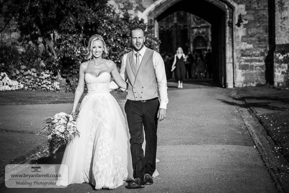 Berkley Castle wedding CA 248