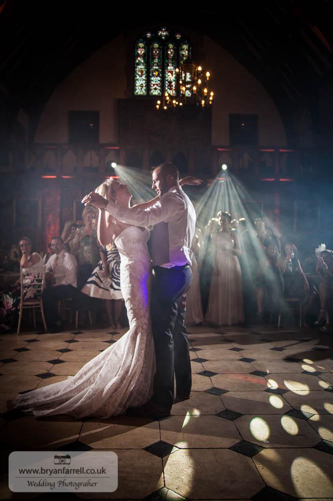 Berkley Castle wedding CA 269