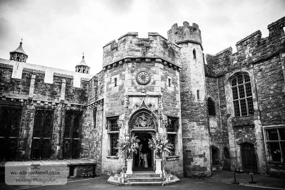 Berkley Castle wedding CA 35