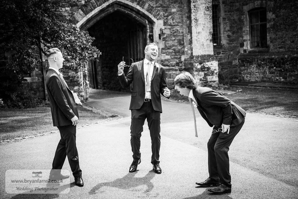Berkley Castle wedding CA 38