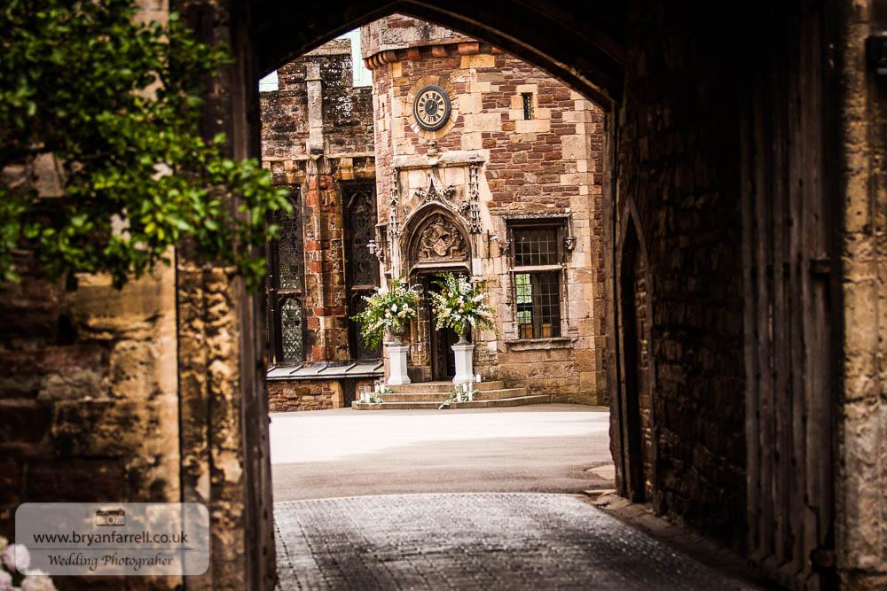 Berkley Castle wedding CA 40