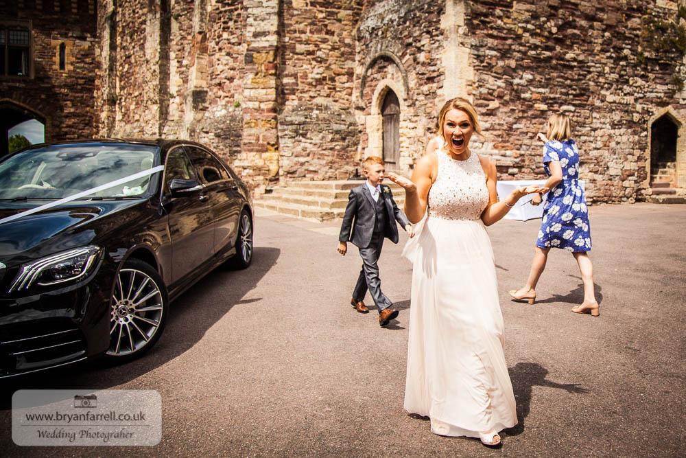 Berkley Castle wedding CA 45