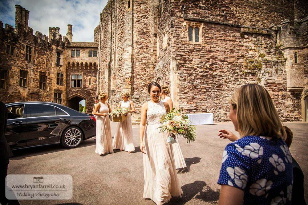 Berkley Castle wedding CA 52