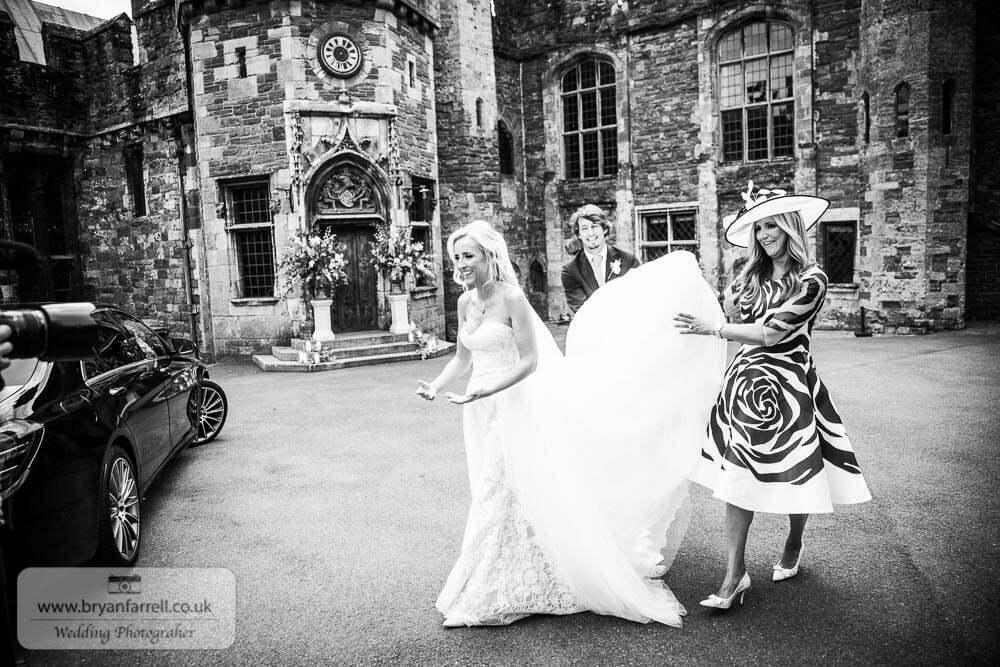 Berkley Castle wedding CA 58