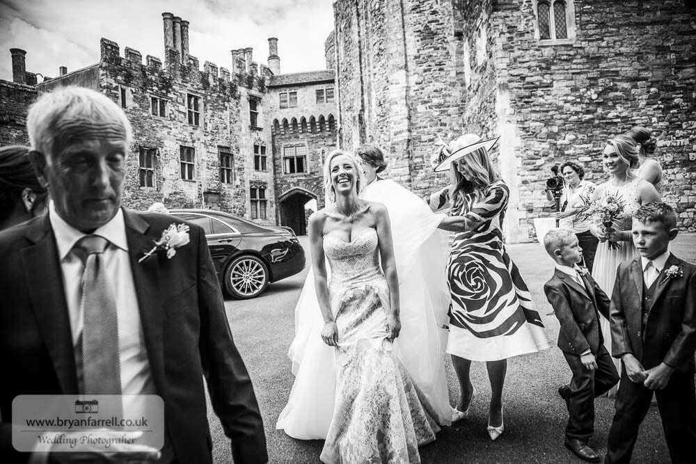 Berkley Castle wedding CA 59