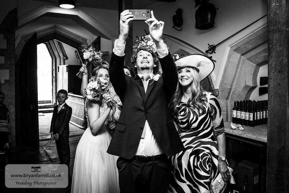 Berkley Castle wedding CA 62