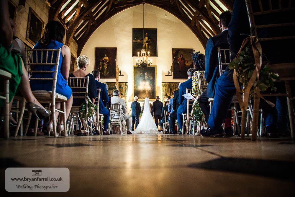 Berkley Castle wedding CA 70