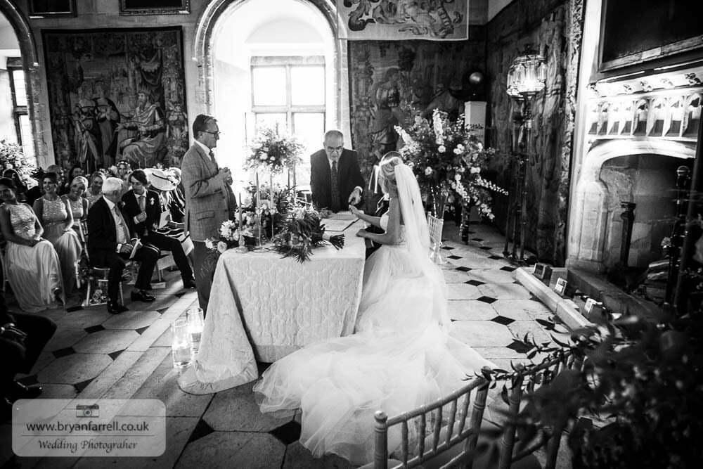 Berkley Castle wedding CA 77