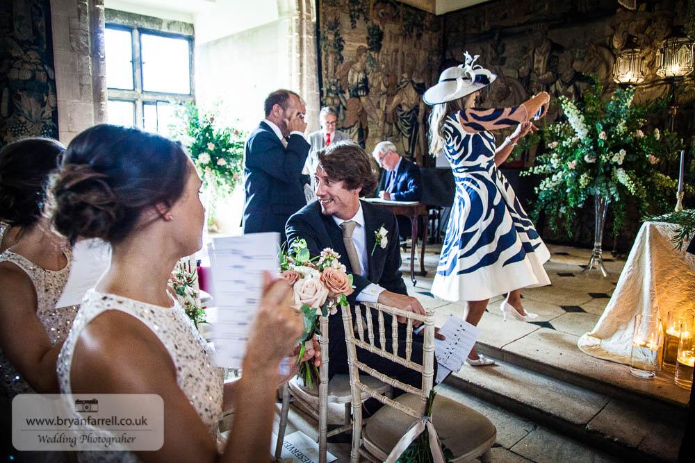 Berkley Castle wedding CA 84