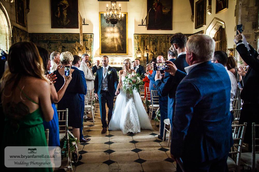 Berkley Castle wedding CA 86