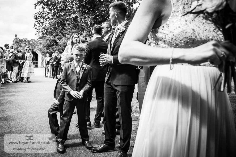 Berkley Castle wedding CA 87