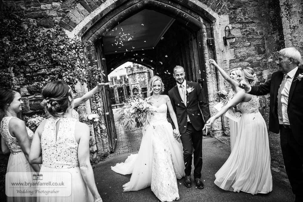 Berkley Castle wedding CA 89