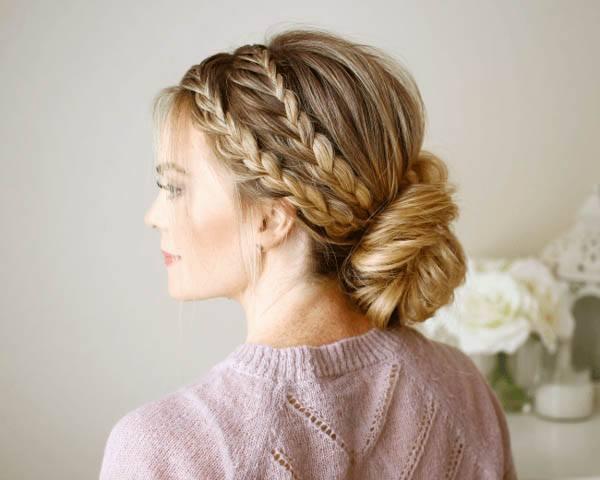 wedding hairstyles - Braided Updo