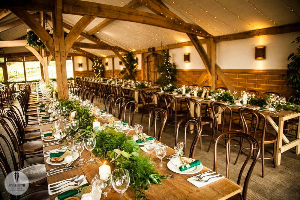 Cripps Barn Winter Wedding 109