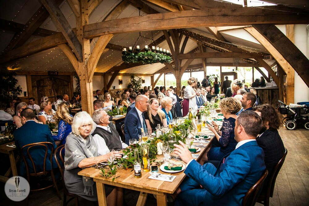 Cripps Barn Winter Wedding 156