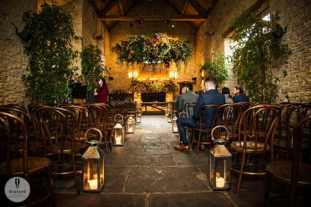 Cripps Barn Winter Wedding 38