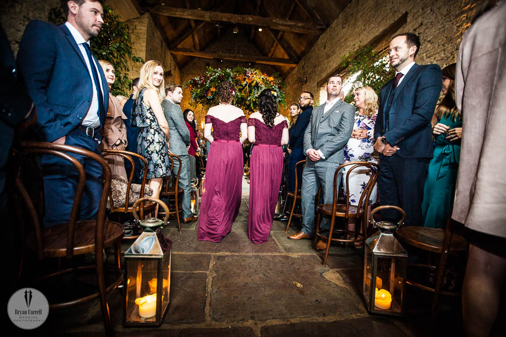 Cripps Barn Winter Wedding 52