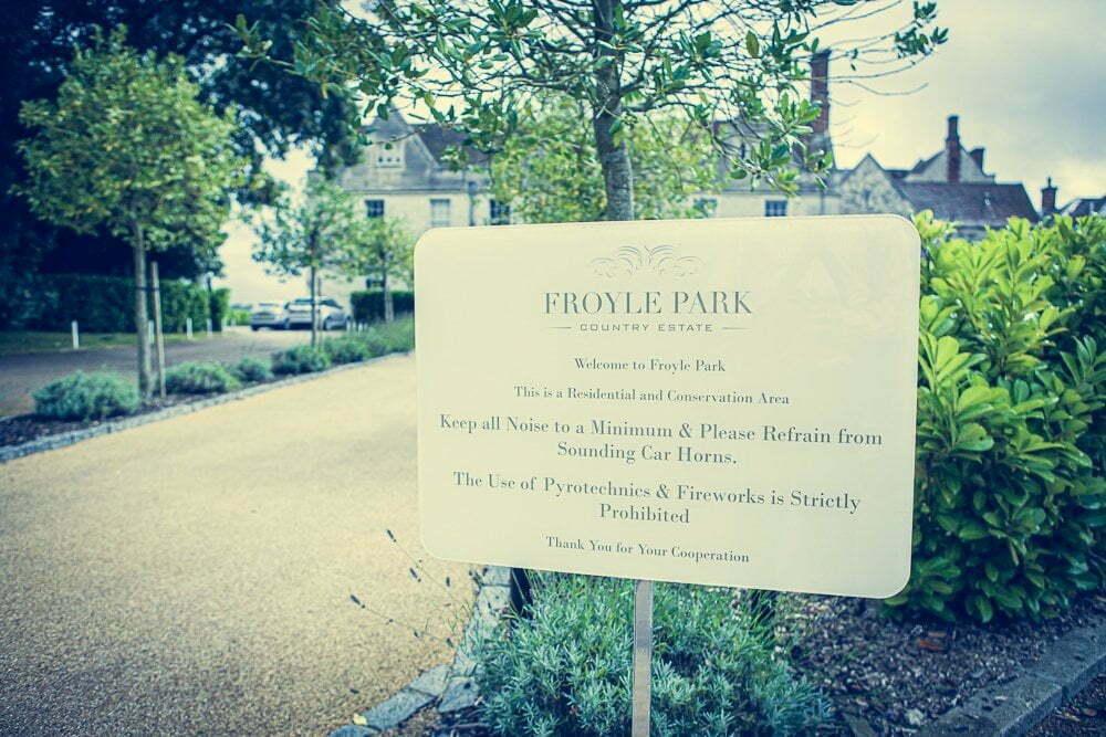 Froyle Park Wedding VS 1