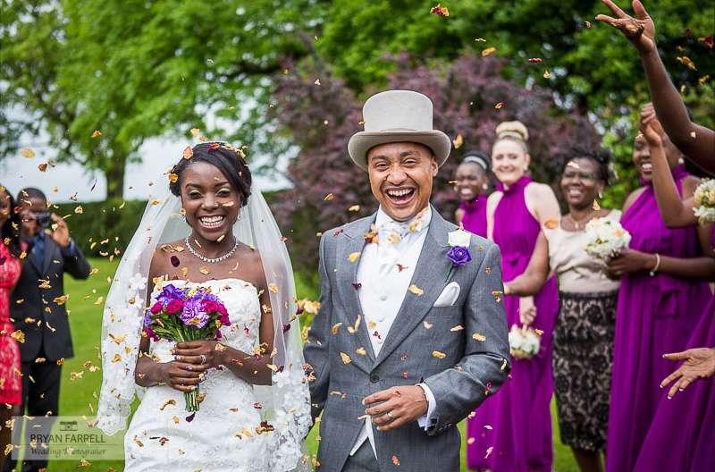 Garstang golf club wedding - Photography by Bryan