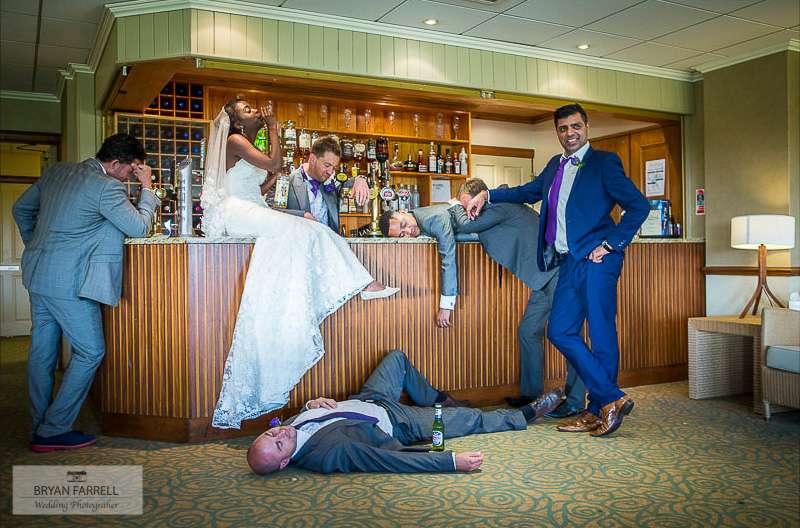 Garstang Golf Club wedding 173