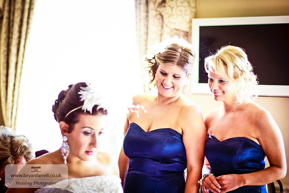 Kingscote Barn Wedding 15