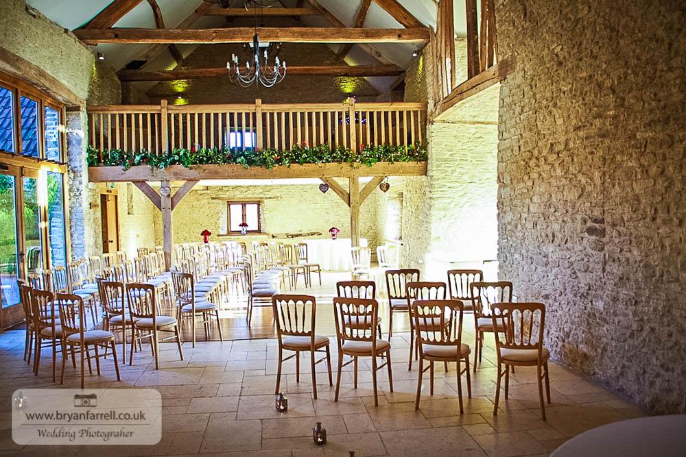 Kingscote Barn Wedding 25