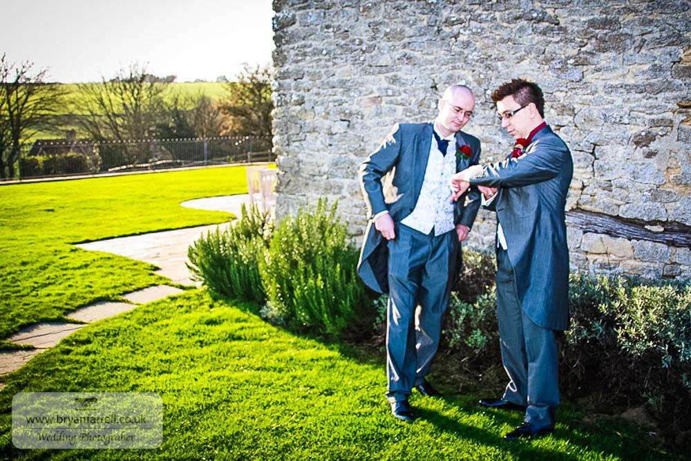 Kingscote Barn Wedding 28