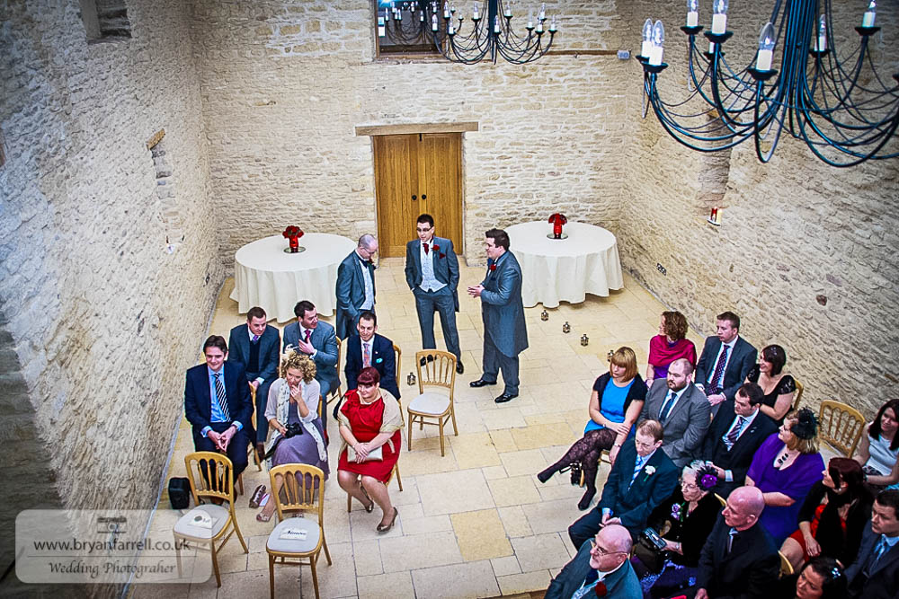 Kingscote Barn Wedding 32