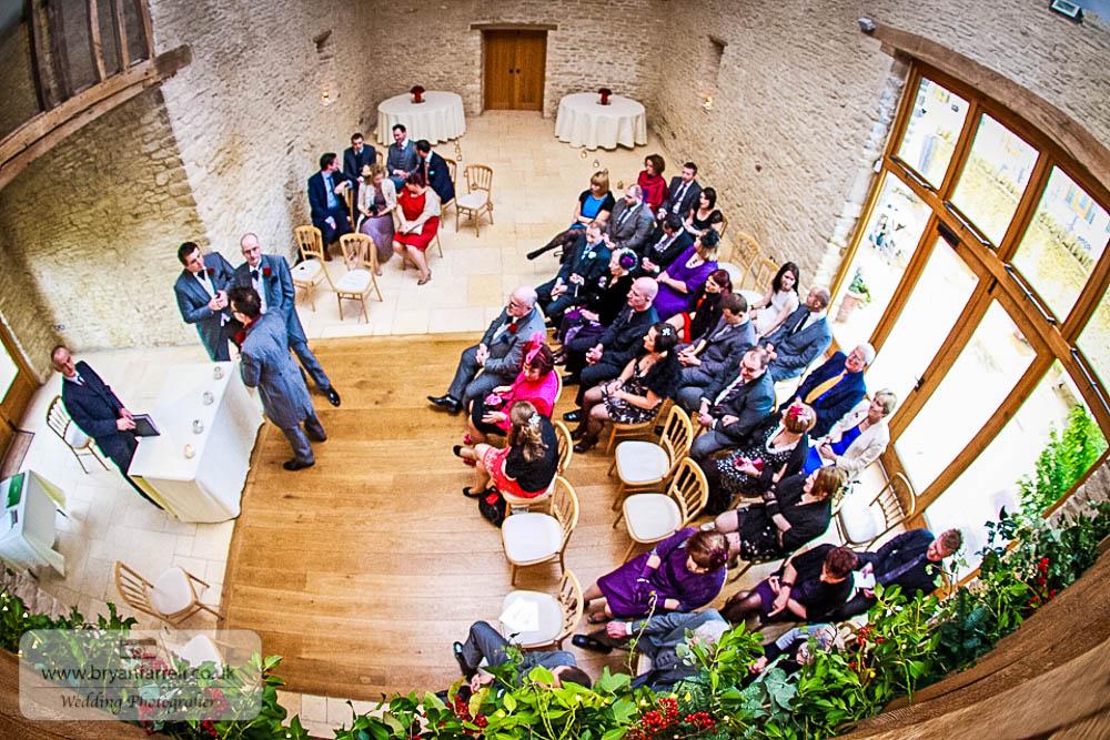 Kingscote Barn Wedding 34