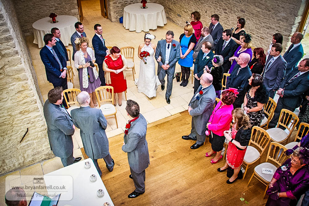 Kingscote Barn Wedding 35