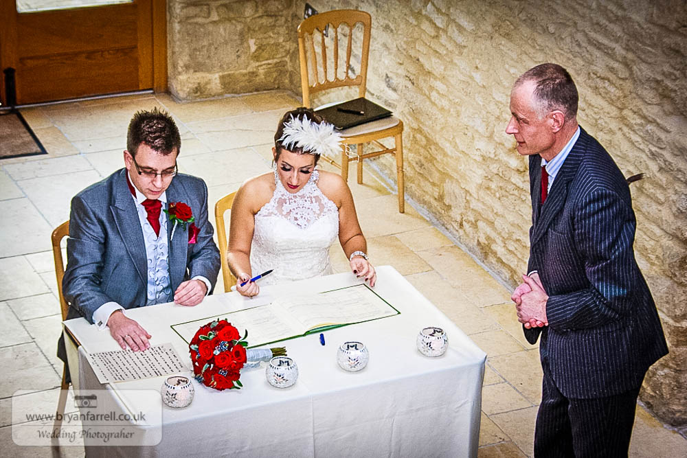 Kingscote Barn Wedding 39