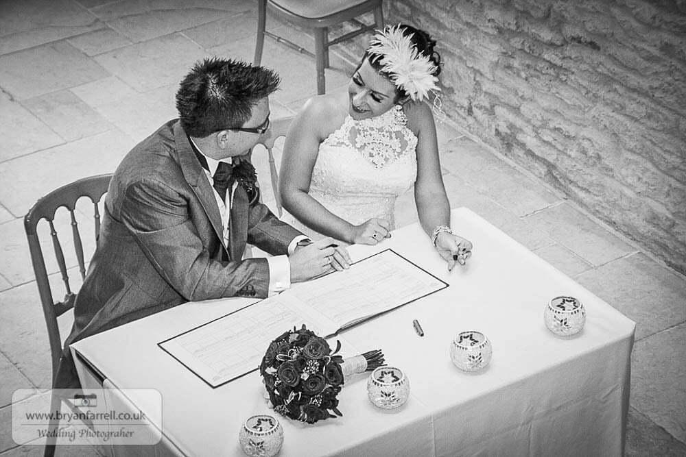 Kingscote Barn Wedding 40