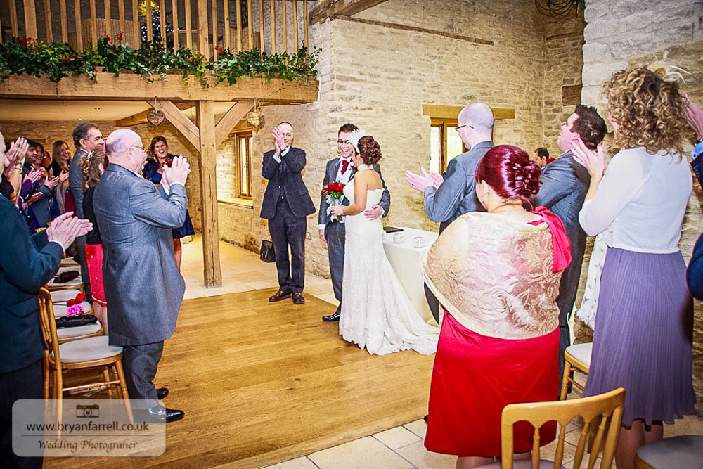 Kingscote Barn Wedding 41