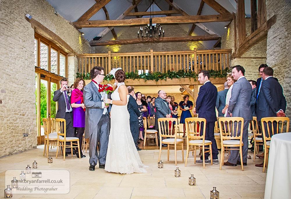 Kingscote Barn Wedding 42