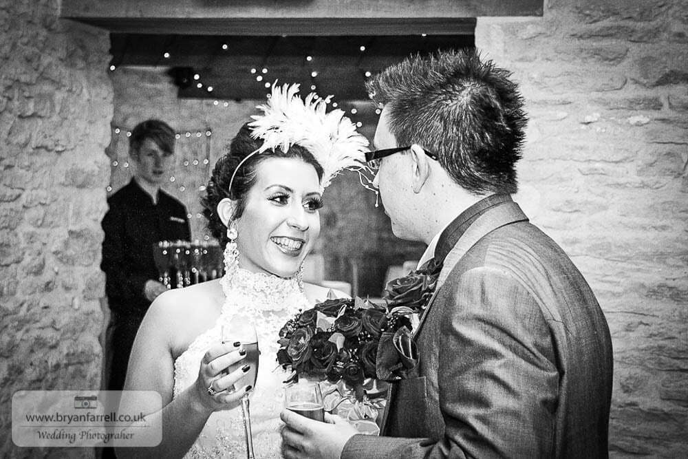 Kingscote Barn Wedding – SG.