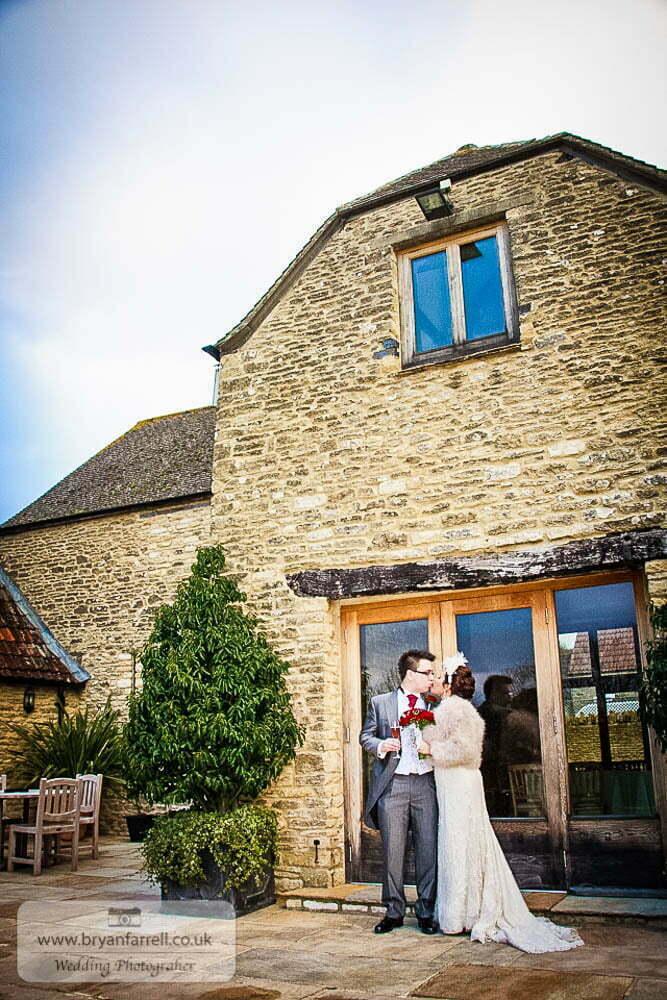 Kingscote Barn Wedding 45