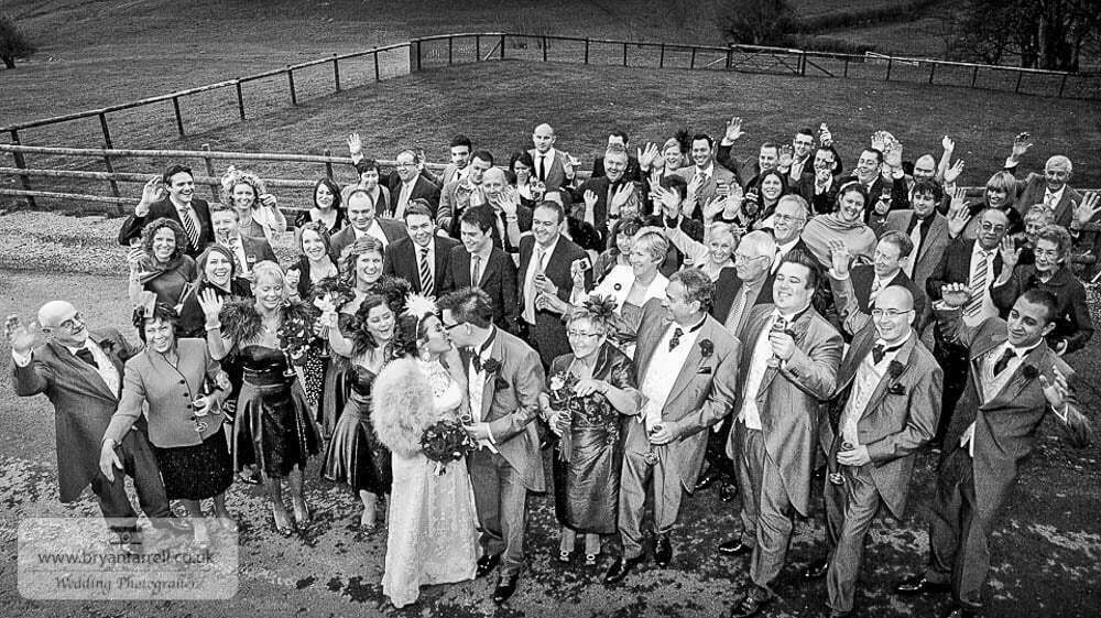 Kingscote Barn Wedding 46