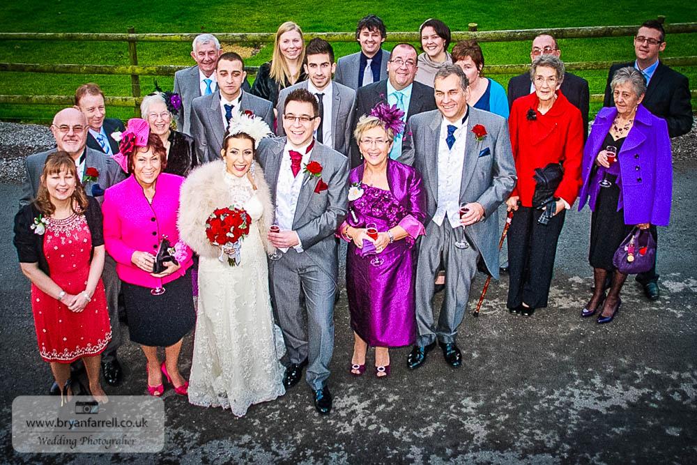 Kingscote Barn Wedding 47