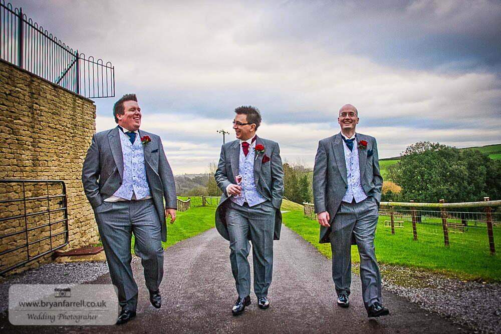 Kingscote Barn Wedding 48